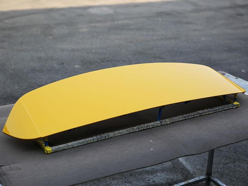 Q3 扰流板--维也纳黄